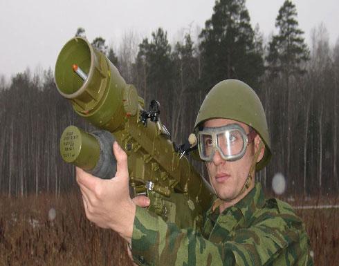 """شاهد .. روسيا تصنع أخطر """"صاروخ كتف"""" في العالم"""