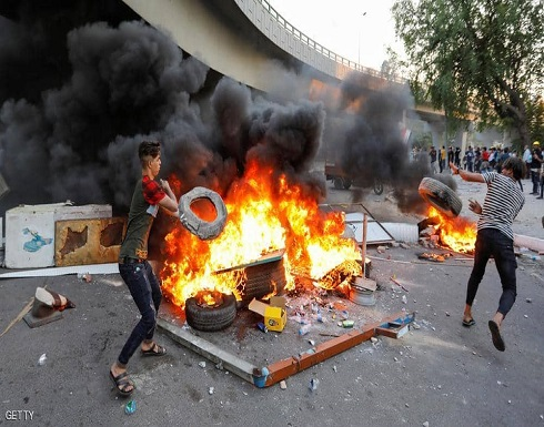 تجدد المظاهرات في العراق وإغلاق الطرق يشل بغداد