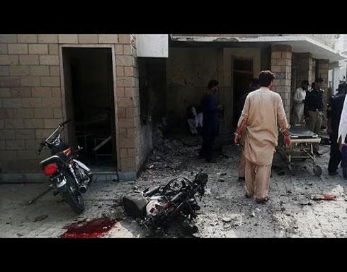 شاهد : تفجير انتحاري نفذته امرأة في باكستان