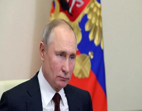 بوتين يدعو طرفي الصراع الفلسطيني الإسرائيلي إلى وقف العنف