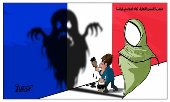 عنصرية اليمين المتطرف تجاه الحجاب في فرنسا