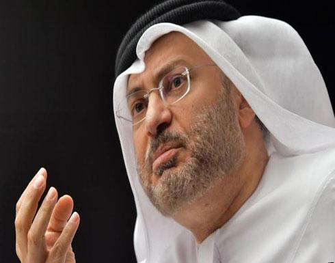 قرقاش: أمن المنطقة واستقرارها يعتمدان على السعودية