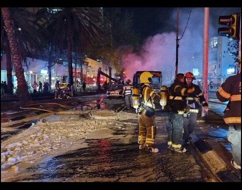 """قصف  """" تل أبيب """" بعشرات الصواريخ انتقاماً لشهداء الشاطئ"""