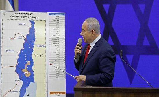 استطلاع :  43 % من الاسرائيليين يؤيدون ضم غور الاردن