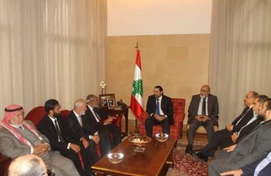 كتلة حماس البرلمانية تبحث سبل تحسين أوضاع اللاجئين في لبنان
