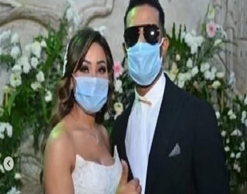 بفستان أنيق.. شاهد أول صور من حفل زفاف شقيقة محمد رمضان