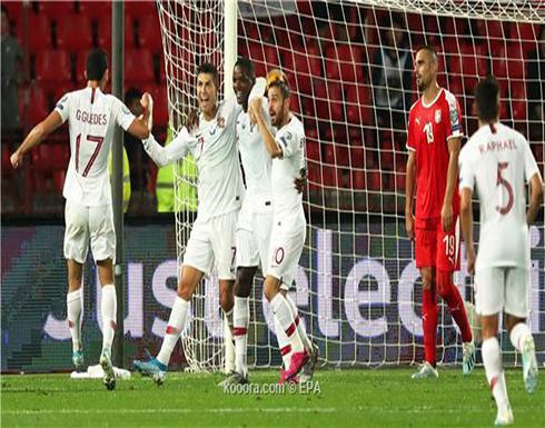 بالصور: رونالدو يقود البرتغال لعبور عقبة صربيا
