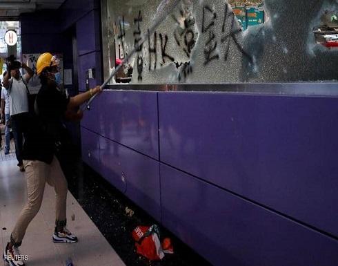 هونغ كونغ.. استهداف المترو ودعوة لإضراب عام