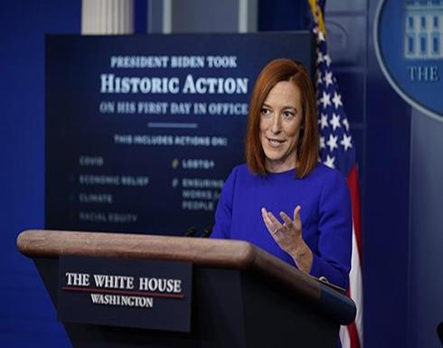 البيت الأبيض يكشف عن أول رئيس يهاتفه بايدن