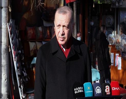 أردوغان: نبحث مع ألمانيا إنشاء مركز إنتاج مشترك للقاح كورونا