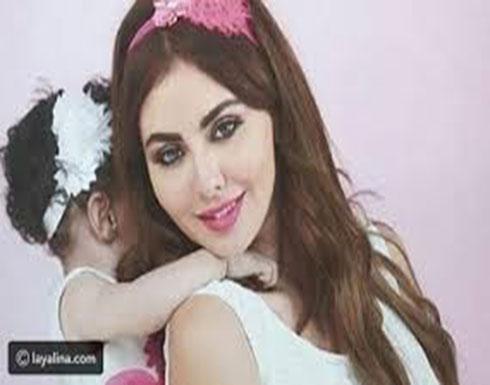 """بالفيديو : مريم حسين بـ""""الهوت شورت"""" مع طفلتها.. وتصطدم مع المُعلقين"""