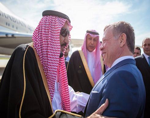 الملك عبد الله  يهنئ العاهل السعودي بنجاح الجهود في التوصل لاتفاق الرياض