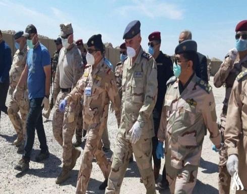 التحالف الدولي يغادر قاعدة الحبانية في العراق
