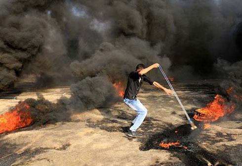 """شهداء و اصابات في مسيرات """"مليونية القدس"""""""
