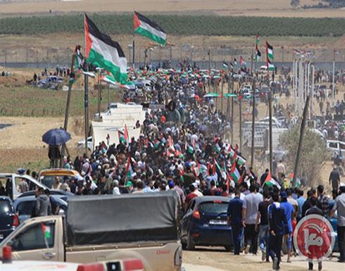 """الجمعة القادمة على حدود غزة جمعة """"التراحم والتكافل"""""""