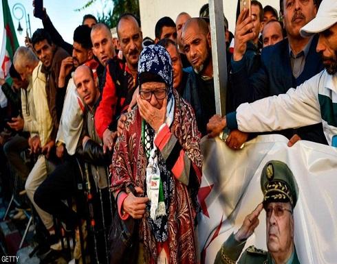 """صور .. الجزائر تودع قايد صالح """"حامي الحراك الشعبي"""""""