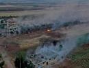 قصف مكثف لقوات النظام على إدلب