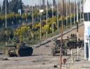 دبابات الجيش السوري على مشارف حي بابا عمرو