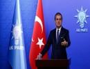 """المتحدث باسم حزب """"العدالة والتنمية"""" التركي، عمر جليك"""