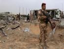 الدمار في مطار كربلاء بعد الضربات الجوية العسكرية الأميركية