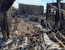 أرشيفية لهجوم سابق على قاعدة عين الأسد في العراق