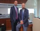 الشقيقان الدكتور فطين البداد والسيد زايد البداد