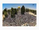 200 الف فلسطيني ادوا صلاة الجمعة في الاقصى اليوم