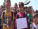 وقفات للطلاب والمعلمين تطالب بحماية المدارس بإدلب