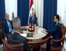 اجتماع الرئاسات الثلاث في قصر السلام ببغداد
