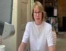 السفيرة الأمريكية لدى الأمم المتحدة كيلي كرافت عبر الدائرة التلفزيونية- (تويتر)