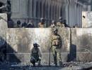 الجيش  في ساحات بغداد