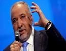 """رئيس حزب """"إسرائيل بيتنا""""، أفيغدور ليبرمان"""