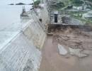 صورة تظهر المياه المتدفقة من سد النهضة في إثيوبيا
