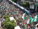 صورة أرشيفية لاحتجاجات في الجزائر