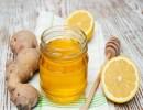 الليمون و الزنجبيل و العسل