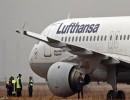 الطائرة تابعة لشركة لوفتهانزا