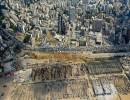 صورة جوية لآثار الدمار التي خلفها انفجار بيروت
