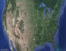 خريطة الولايات المتحدة الأميركية
