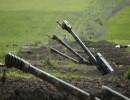 وحدات مدفعية للقوات الأرمنية في إقليم قره باغ.
