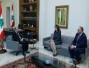 الرئيس اللبناني ميشال عون يلتقي السفيرة الأمريكية، أرشيف