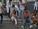 مشاهد مروعة من مستشفى لبناني للعشرات من جرحى انفجار بيروت .. شاهد