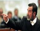 الرئيس العراقي الراحل، صدام حسين