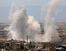 قصف عنيف لطائرات النظام السوري على ريف إدلب