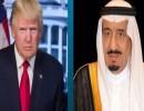 الملك سلمان والرئيس الأميركي