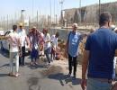 شاهد : تفجير استهدف حافلة سياحية أمام المتحف المصري الكبير