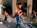 شاهد : لقطات مؤثرة ربما لم تشاهدها في انفجار بيروت