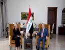 الرئيس صالح والمبعوثة الأممية