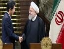 حسن روحاني، ورئيس الوزراء الياباني