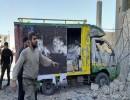 """انفجار سيارة مفخخة بـ""""الباب"""" السورية"""