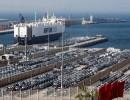 ميناء طنجة شمالي المغرب